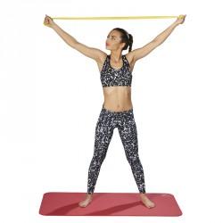 Fitnesz szalag Trendy Limite Band 2,5 m x 15 cm szürke legerősebb Sportszer Trendy