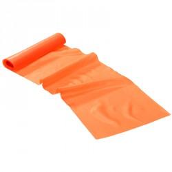 Fitnesz szalag Trendy Limite Band 2,5 m x 15 cm narancssárga extra gyenge Sportszer Trendy