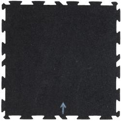 Talajvédő szőnyeg Trendy 50x50x1,5 cm fehér-kék-narancssárga Sportszer Trendy