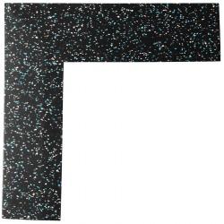 Talajvédő szőnyeg sarok Trendy fehér-kék Sportszer Trendy