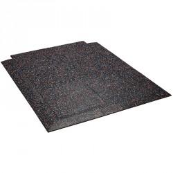 Talajvédő szőnyeg sarok Trendy fehér-kék-narancssárga Sportszer Trendy