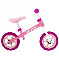Futóbicikli rózsaszín 10 Sportszer Spartan