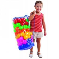 Labdatartó zsák Amaya 85 db színes labdával Egyéb játékok Amaya