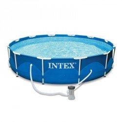 Medence szett Intex Metal Frame fémvázas 366x76 cm Medence Intex