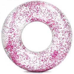 Csillám úszógumi Intex átlátszó rózsaszín Sportszer Intex