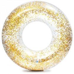 Csillám úszógumi Intex átlátszó arany Sportszer Intex