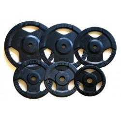 Aktivsport Gumírozott súlyzótárcsa 1,25 kg 31 mm hirlevel2 Aktivsport