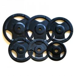 Aktivsport Gumírozott súlyzótárcsa 5 kg 31 mm hirlevel2 Aktivsport