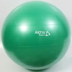 Aktivsport Durranásmentes labda 65 cm zöld Sportszer Aktivsport