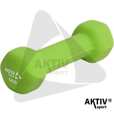 Aktivsport Súlyzó 1 kg neoprén