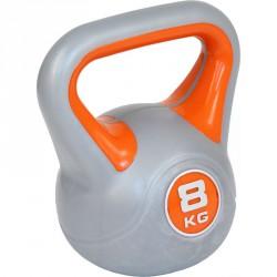 Aktivsport kettlebell 8 kg műanyag bevonattal Sportszer Aktivsport