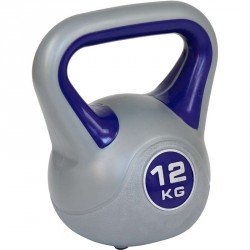 Aktivsport kettlebell 12 kg műanyag bevonattal Sportszer Aktivsport