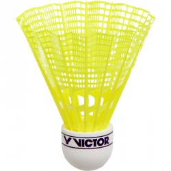 Tollaslabda Victor Nylon Shuttle 400 szintetikus fej, sárga Sportszer Victor