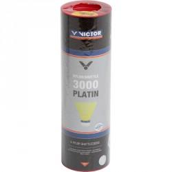 Tollaslabda Victor 3000 Platin piros csík, sárga szoknya Sportszer Victor