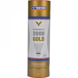 Tollaslabda Victor 2000 Gold piros csík, fehér szoknya Sportszer Victor
