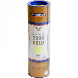 Tollaslabda Victor 2000 Gold kék csík, sárga szoknya Sportszer Victor