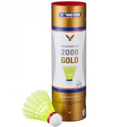 Tollaslabda Victor 2000 Gold piros csík, sárga szoknya Sportszer Victor