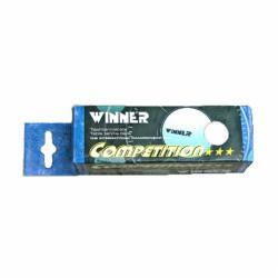 Pingponglabda, Winner fehér 3 db Sportszer Winner