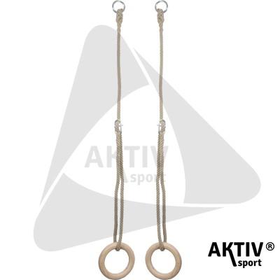 Kötélszáras gyűrűhinta, 1,7 m gyerek 14 mm-es kötéllel