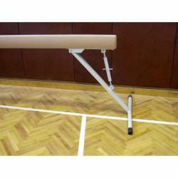 Tornagerenda, gyakorló, velúr borítással 5 m, 80 cm-120 cm-ig állítható Sportszer Drenco