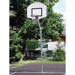 Streetball állvány, lebetonozható 0,6 m benyúlással, fix, hüvely nélkül Sportszer Drenco