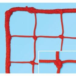 Védőháló, 10x10 cm 5 mm, kültéri, piros 33010014 Sportszer FAR