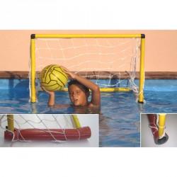Vízilabda kapu úszókkal 90 x 60 cm Sportszer Liski