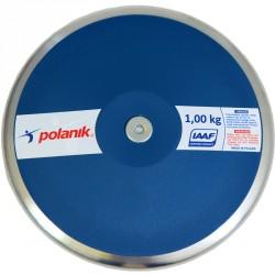 Verseny diszkosz Polanik IAAF kék 1 kg Sportszer Polanik