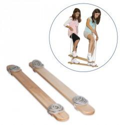 Nyári sí-kétszemélyes lépegető Fa egyensúlyozó eszközök