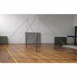 Nyújtó, 1,45 m-től 2,5 m-ig állítható rúdmagassággal, feszítővel Sportszer Drenco