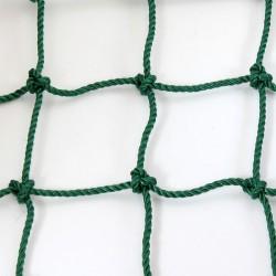 Minikapu háló 120x80 cm 5 mm-es zöld Sportszer