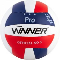 Röplabda Winner Pro piros-kék-fehér Sportszer Winner