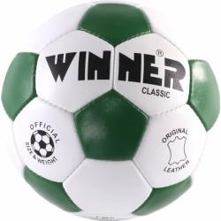 Futball labda, bőr, pöttyös, No. 3 Winner Classic Sportszer Winner