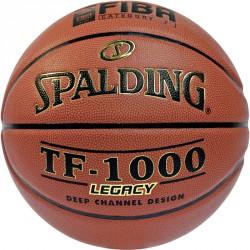 Kosárlabda Spalding TF 1000 bőr versenylabda méret: 7