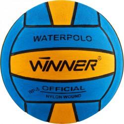 vízilabda, Winner edző No5, gumi kék-sárga Sportszer Winner