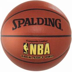 Kosárlabda, Spalding NBA Tacksoft Junior bőr, méret: 6 Sportszer Spalding