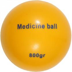 Hajítólabda, 800 g (sima falú medicin) Sportszer