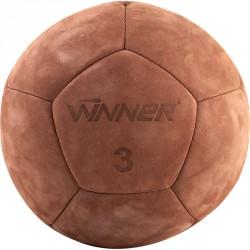 Medicinlabda 3 kg, bőr, Winner Sportszer Winner