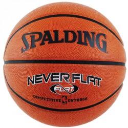 Kosárlabda, Spalding, Neverflat Outdoor bőr méret: 7 Kosárlabda Spalding