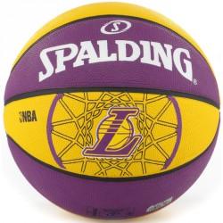 Kosárlabda Spalding Teamball L.A Lakers méret: 5 Sportszer Spalding