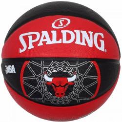Kosárlabda Spalding Teamball Chicago Bulls méret: 7 Sportszer Spalding