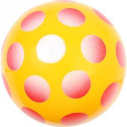 Játéklabda 30 cm színes pöttyös Sportszer
