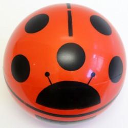 Vegyes mintás labda 22 cm Sportszer