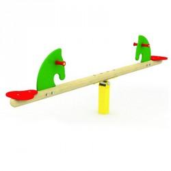 Mérleghinta lovacskával Játszótéri eszközök