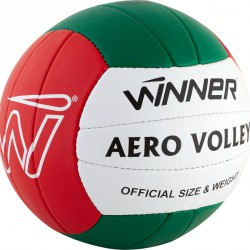 Röplabda Winner Aero PU piros-fehér-zöld Sportszer Winner