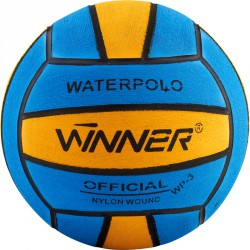 Vízilabda Winner No3, gumi kék-sárga Sportszer Winner