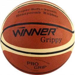 Kosárlabda Winner Grippy, No.7, gumi csíkos Sportszer Winner