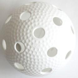 Floorball labda Salming Aero fehér Sportszer