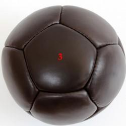 Medicinlabda 3 kg, bőr, Saman fekete Sportszer