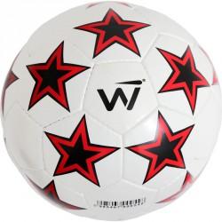 Winner Kick Star futball labda méret: 5 fehér-piros-fekete Sportszer Winner
